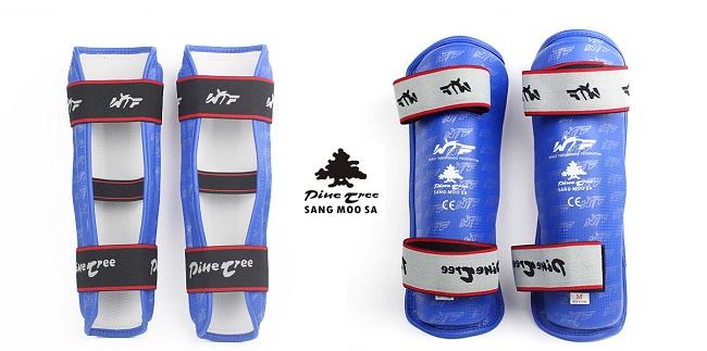 Pine Tree Schienenbeinschutz blau