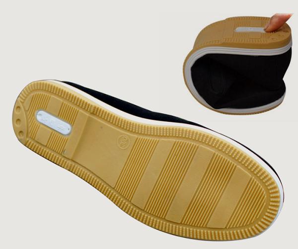 kung fu schuhe gummi sole