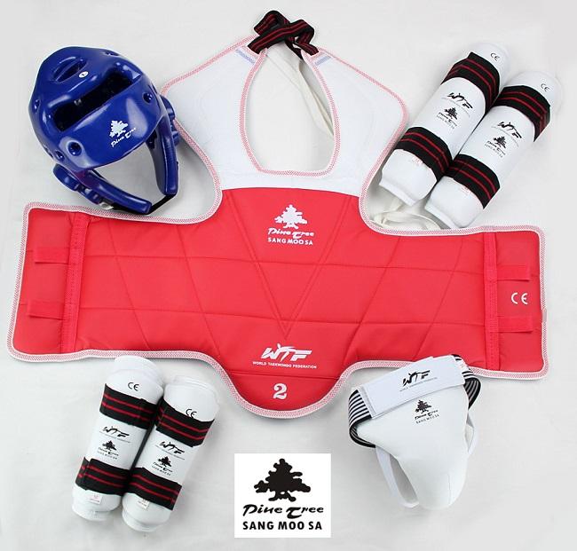 Pine Tree Taekwondo Komplett Set