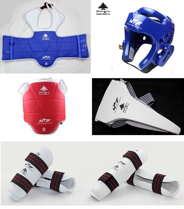 taekwondo komplett ausrüstung