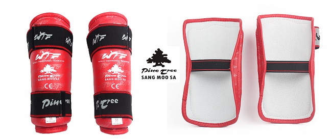 Pine Tree unterarmschutz rot